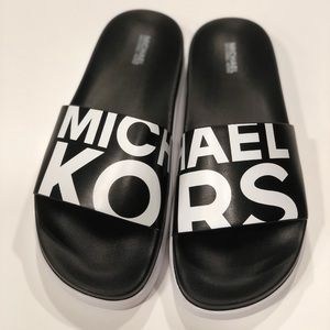 Michael Kors Shoes - MICHAEL Kors Tyra Pool Slide Sandals